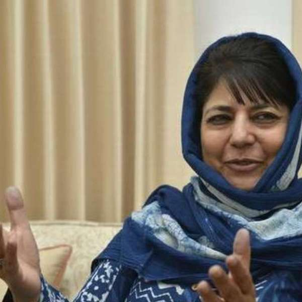 """'House arrest as usual': """"There is rule of repression and terror in Kashmir"""" Says Mehbooba Mufti"""