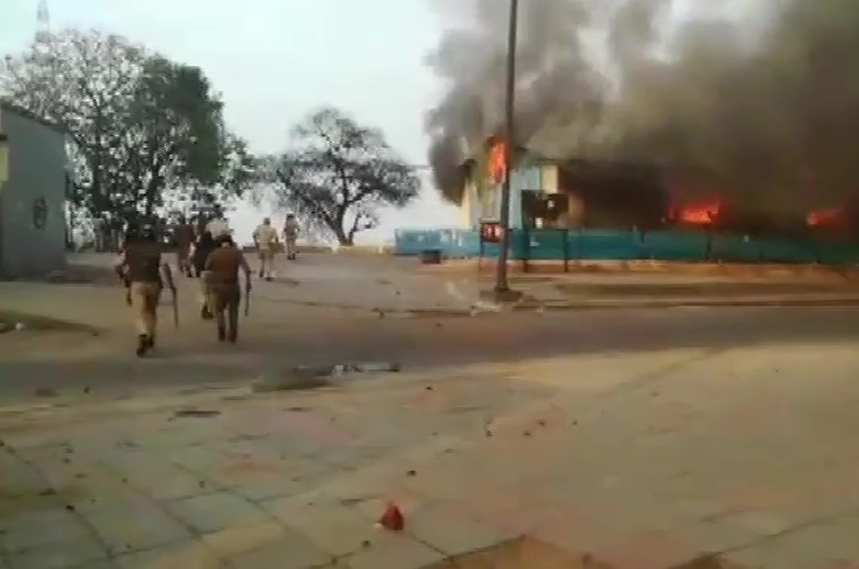 Kashmiri Gate Shelter Home Fire