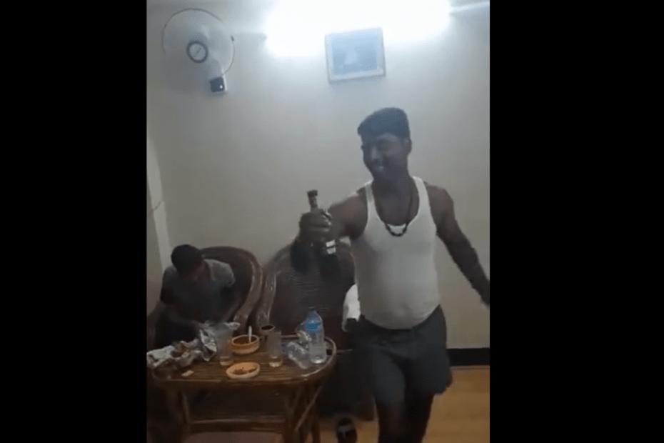 Vishal Gaurav JDU Nagin Dance