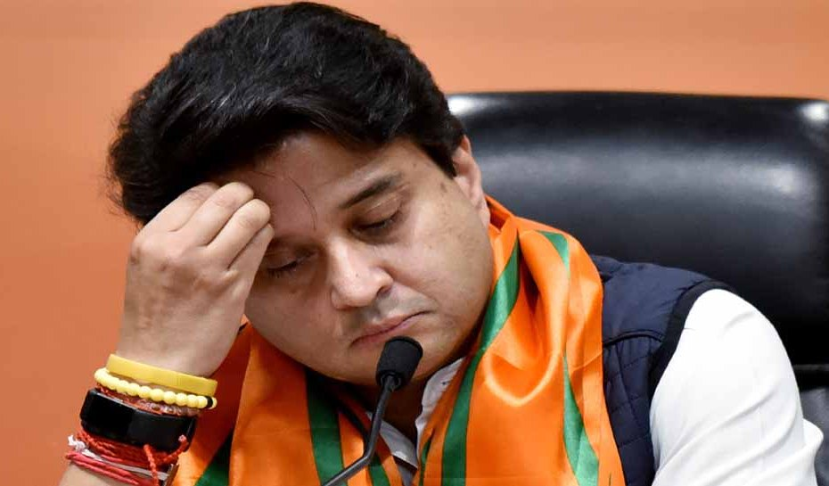 rajya sabha election 2020 jyotiraditya scindia central minister prahlad patel bjp congress digvijay singh