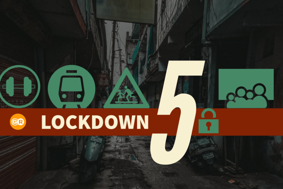 Lockdown 5 India Guidelines