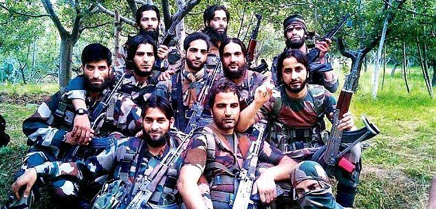 top 10 militants of kashmir killed so far