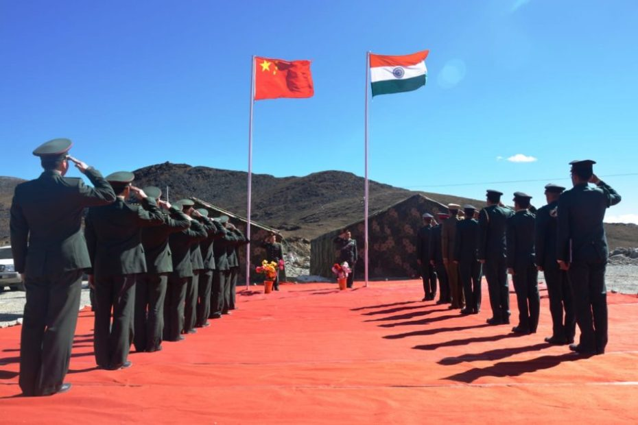LAC Situation india china fress standoff