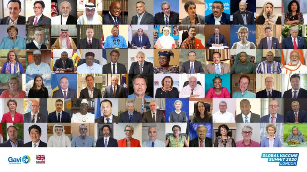Global Vaccine Summit 2020 GAVI