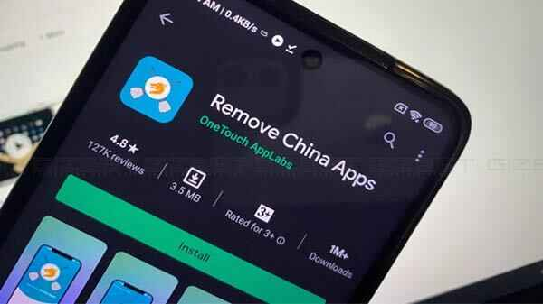 why Indians deleting chinese apps