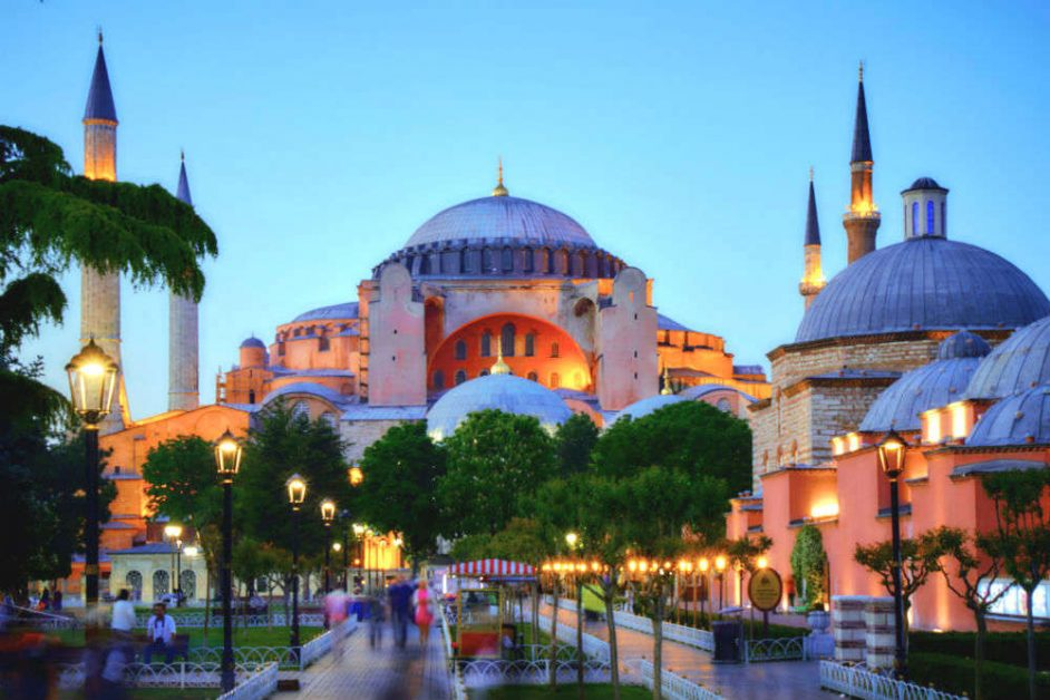 Hagia Sophia Mosque Church worship place Istanbul turkey muslims islam Secularism
