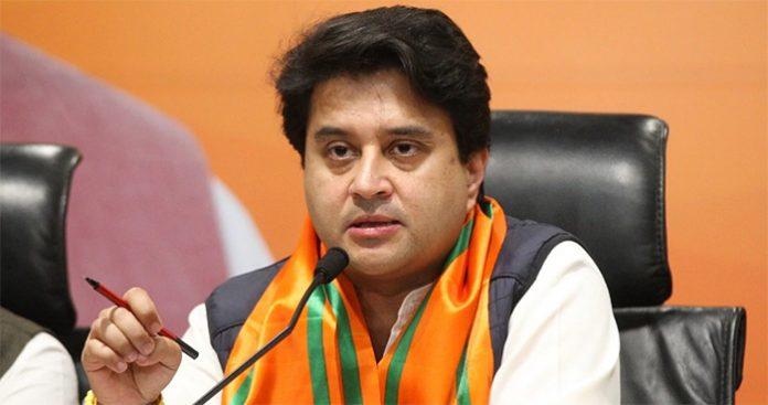ज्योतिरादित्य सिंधिया व उनके सचिव पर चुनाव के टिकट बेचने का आरोप !
