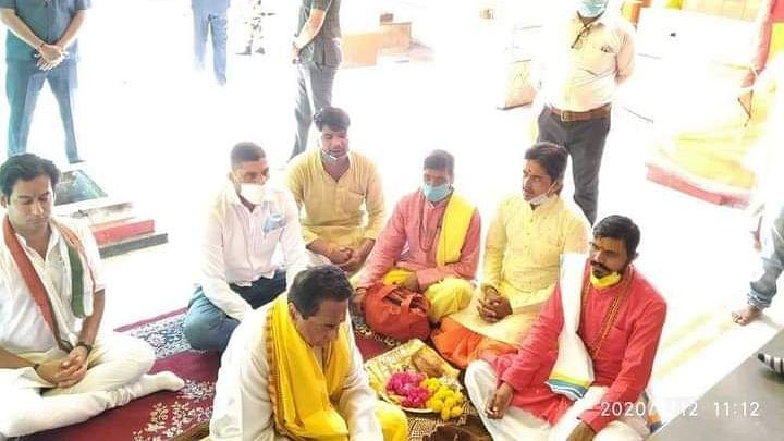 Madhya Pradesh By Elections 2020: Kamalnath prayers bagulamukhi devi mata mandir in agar malwa, launches campaign