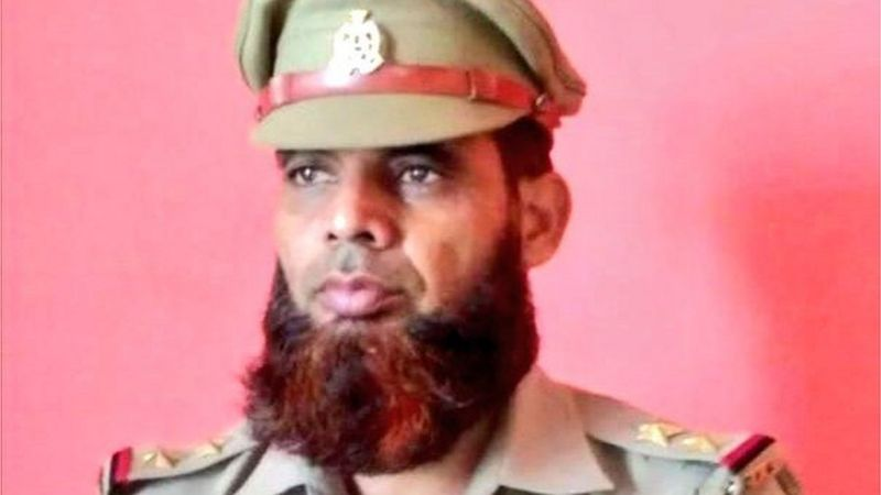 Complete story of suspension of Muslim sub-inspector on beard