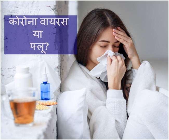 फ्लू और कोरोना के बीच जाने अंतर, इस मौसम में बुखार और फ्लू की बढ़ जाती हैं संभावनाएं..