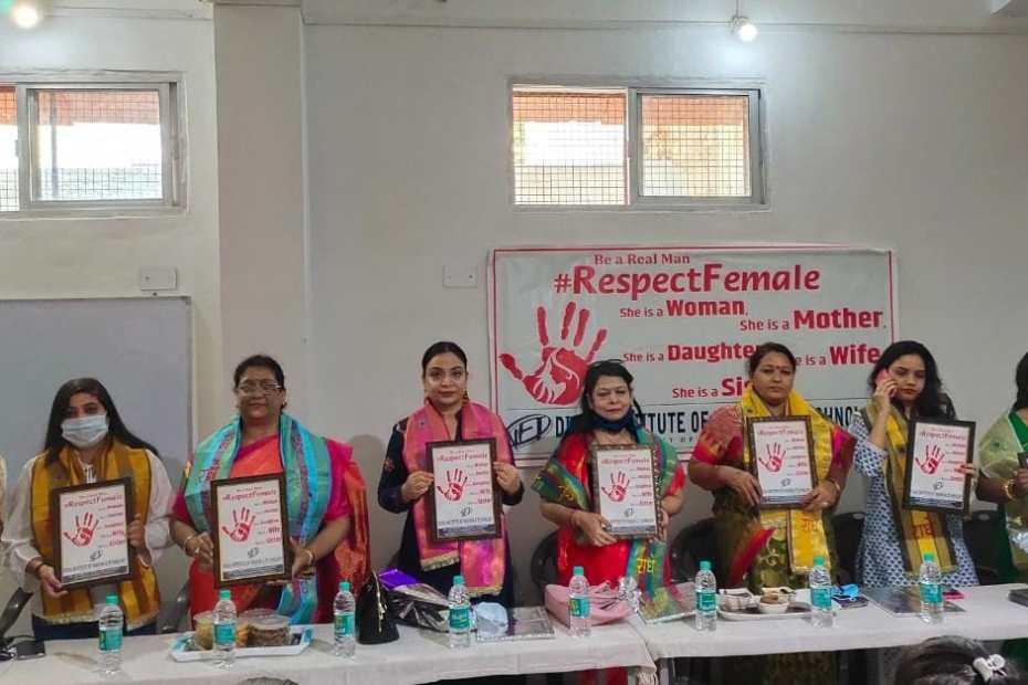 मथुरा : महिलाओं के हक़ की आवाज़ बनेगा #RespectFemale अभियान