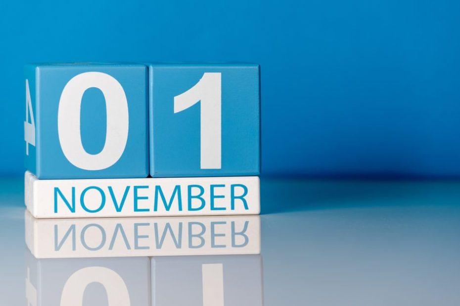 1st november changes