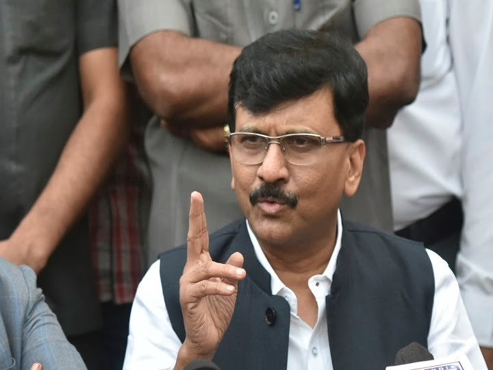 shivsena leader sanjay raut replies to BJP over ed summon to his wife