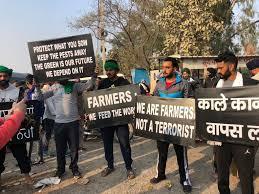 farmers not terrorist