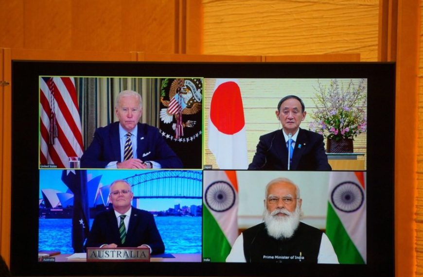 Talked to India, Japan and Australia on China's challenge: US