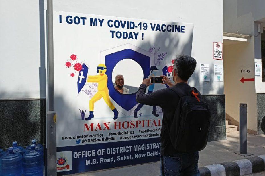 corona vaccination in delhi