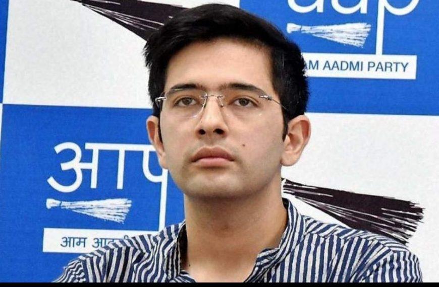 raghav chadhdha on vacciine export