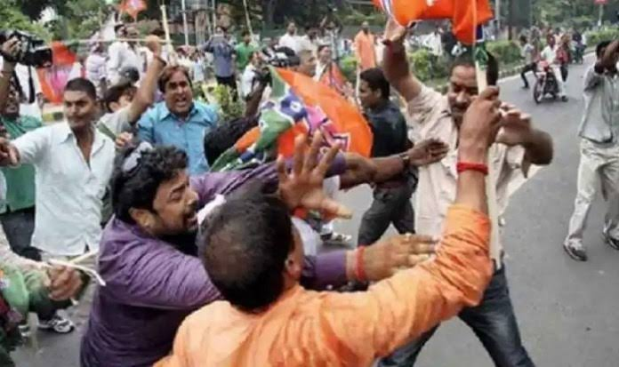 12 people killed in West Bengal violence, allegations against BJP-TMC
