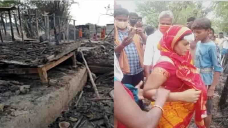 बिहार के गाँव में मुस्लिमों ने मचाया कहर; Dalit बस्ती पर किया हमला