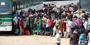 70% migrant labourers remained in home