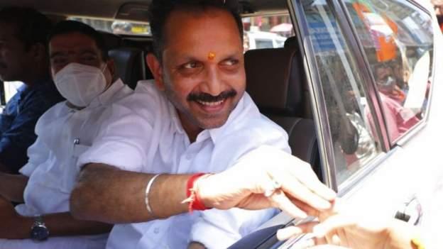 BJP state president K Surendran