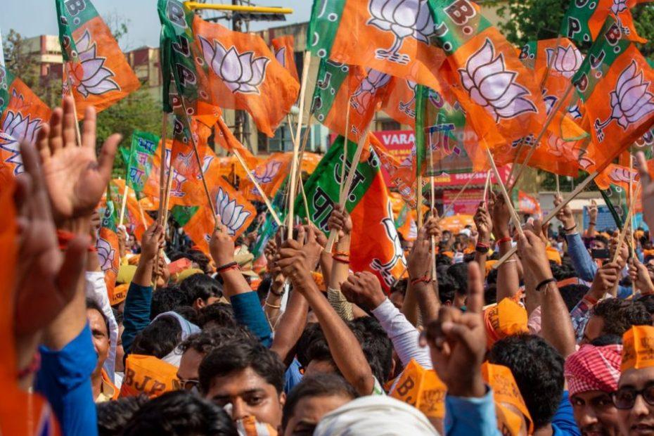 BJP received ₹2555 crore