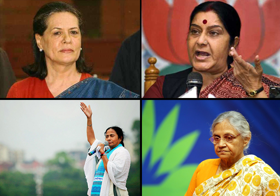 Top 5 women who earned their name in India Politics