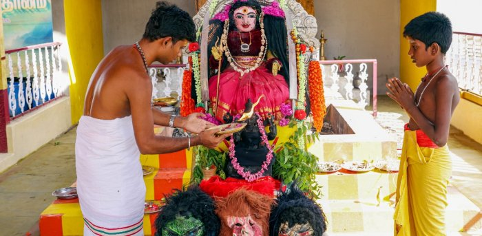 Tamil Nadu Corona Mata ka Temple
