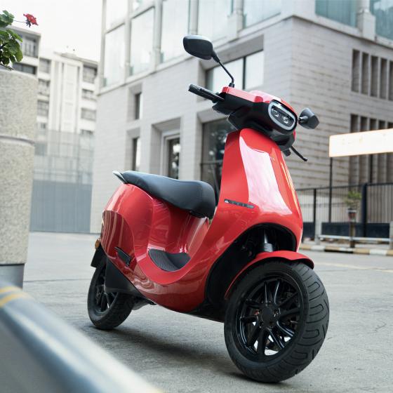 Ola E-scooter Network