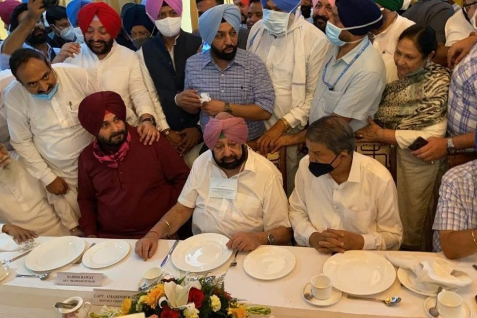 'Peace' in Punjab Congress