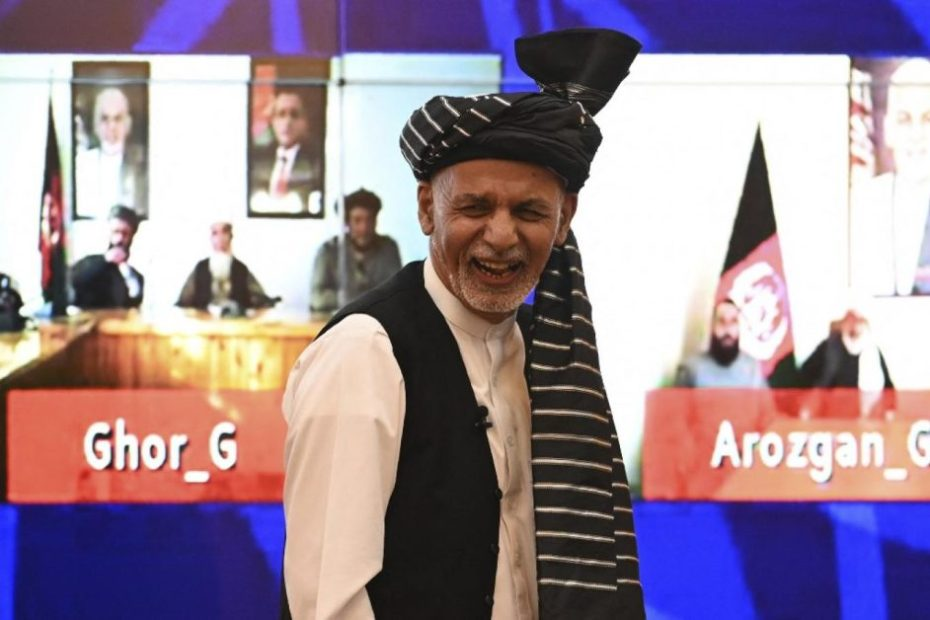 Ashraf Ghani to flee with $169 million