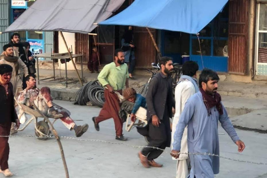 Firing after two blasts at Kabul