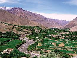 What is the story of 'valley of five lions'