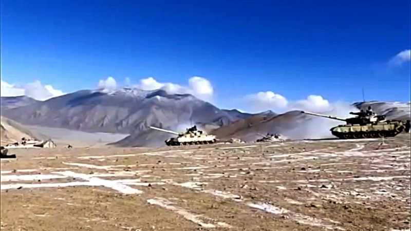 India-China activities intensified along the Line of Actual Control India-China activities intensified along the Line of Actual Control