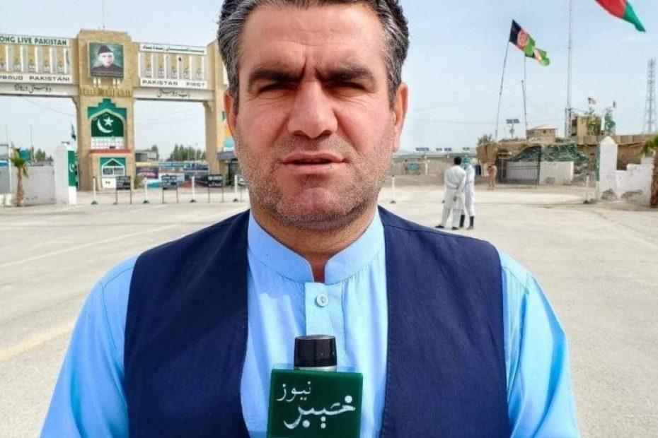 Pakistani journalist in Taliban custody