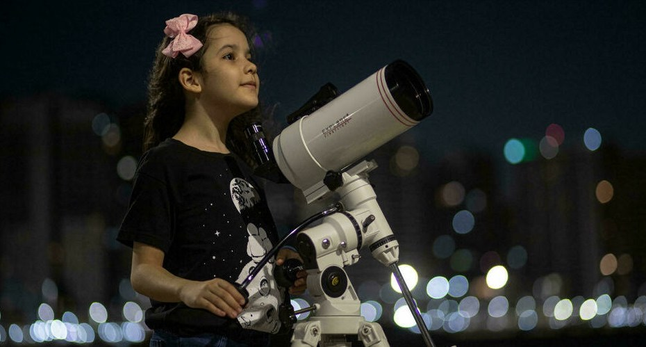 Meet world's youngest astronomer