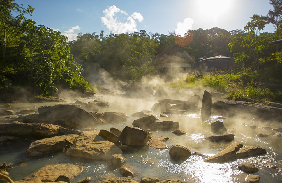 Hottest River in the World that boils animals