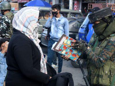 Women frisked in Kashmir