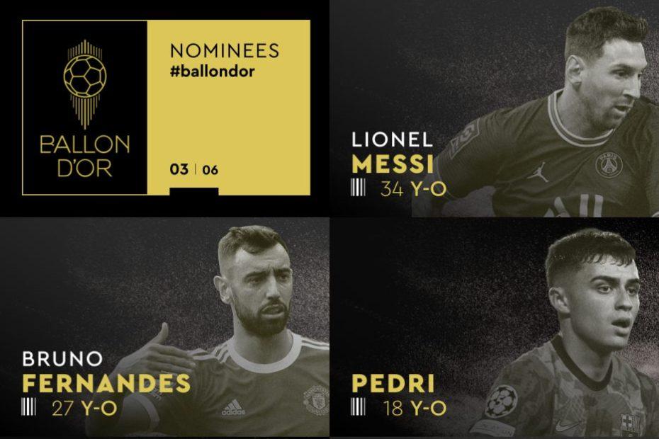 Ballon d'Or 2021 nominations