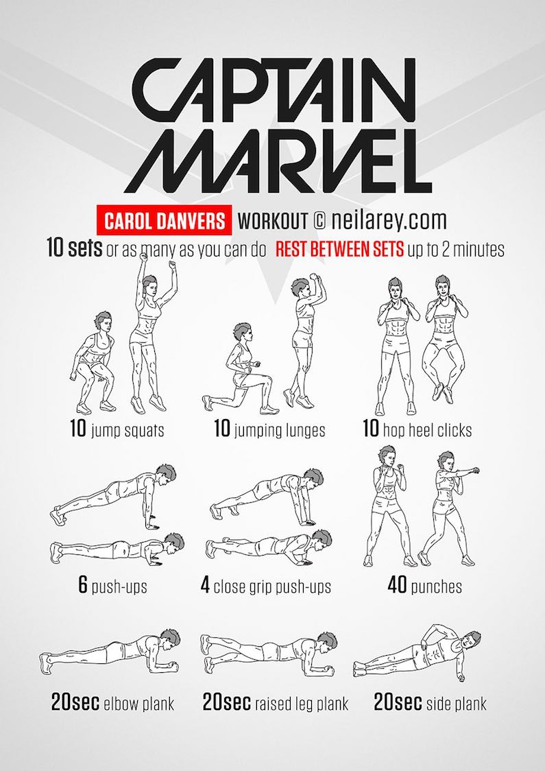 workout-routine-avengers-captain-marvel