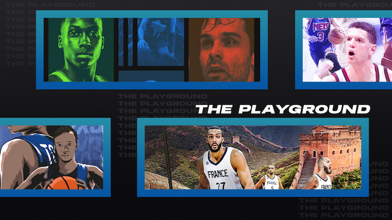 the playground 3 spécial europe programme et menu webzine basketball