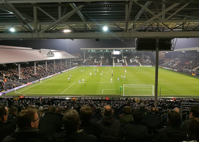 craven cottage ol'ball football groundhopping