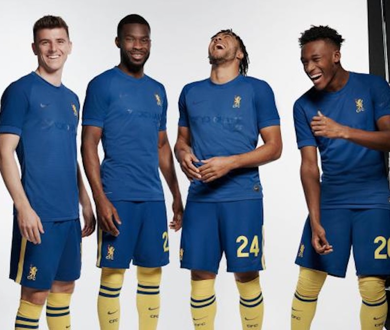 sélection maillot de football ol'ball grounds Chelsea fc nike collector