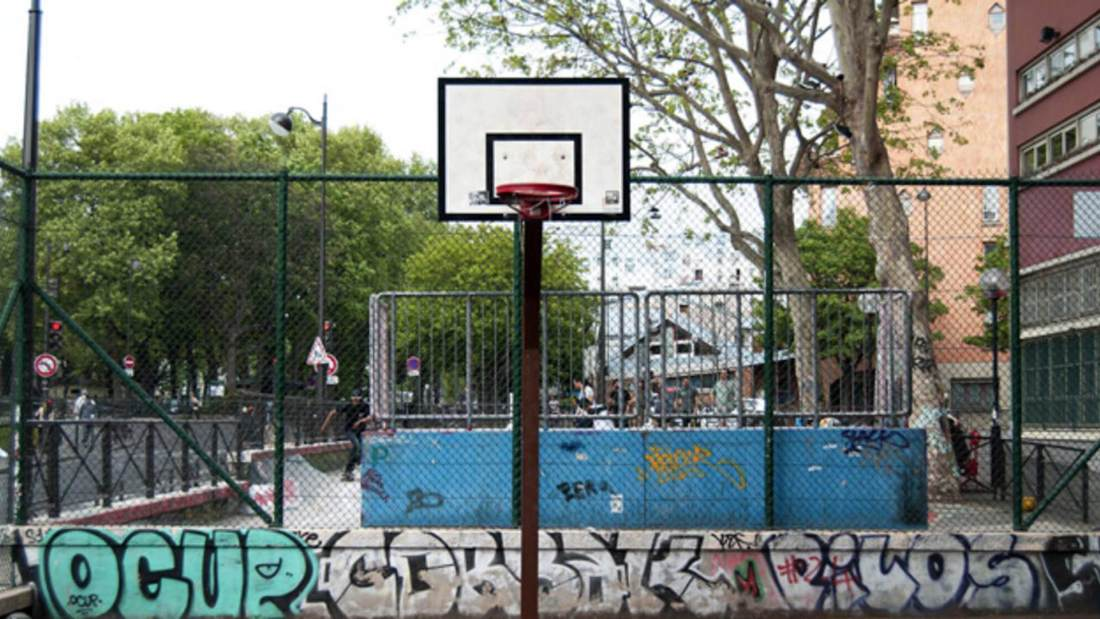 raise the game nba Europe foot locker playground basketball quai de jemmapes paris