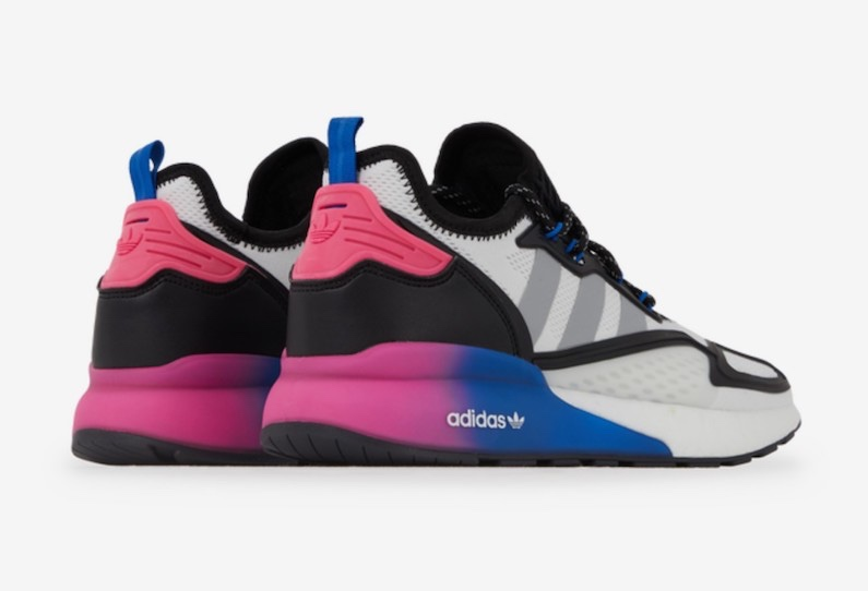 adidas zx 2k boost vald violet bleu sneakers