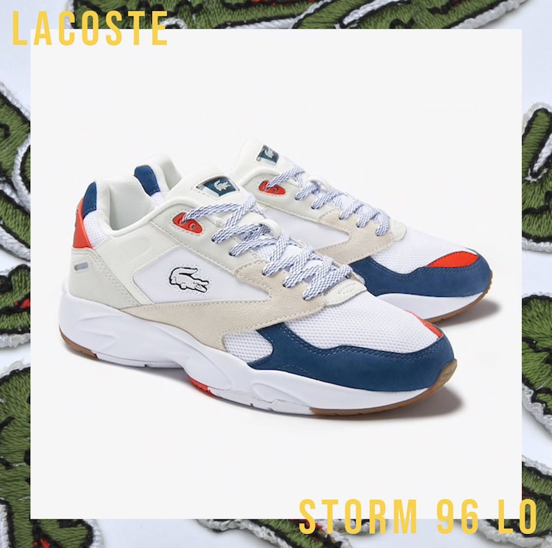 look Lacoste sneakers Storm 96 lo