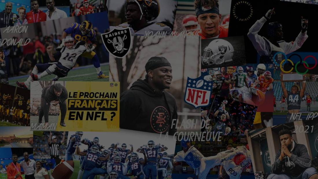 yoann miangué nfl pathway program 2021 football américain patchwork couverture