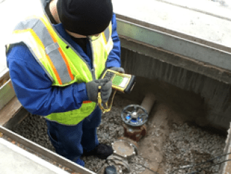 sewer connection inspection