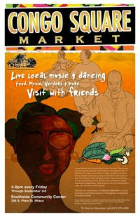The Congo Square Market: an interview with Jhakeem Haltom
