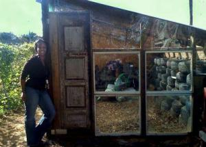 The Quintessential Black Farmer: Rashida's Earthship